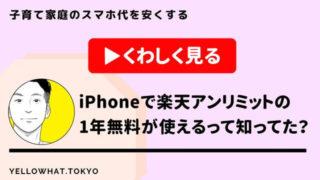 【1年無料】楽天アンリミットはデータ無制限でiPhoneでも使える!eSIMを使って何万円も節約できる裏ワザを紹介。