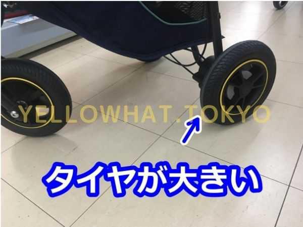 スムーヴの安定走行はタイヤの大きさにあり